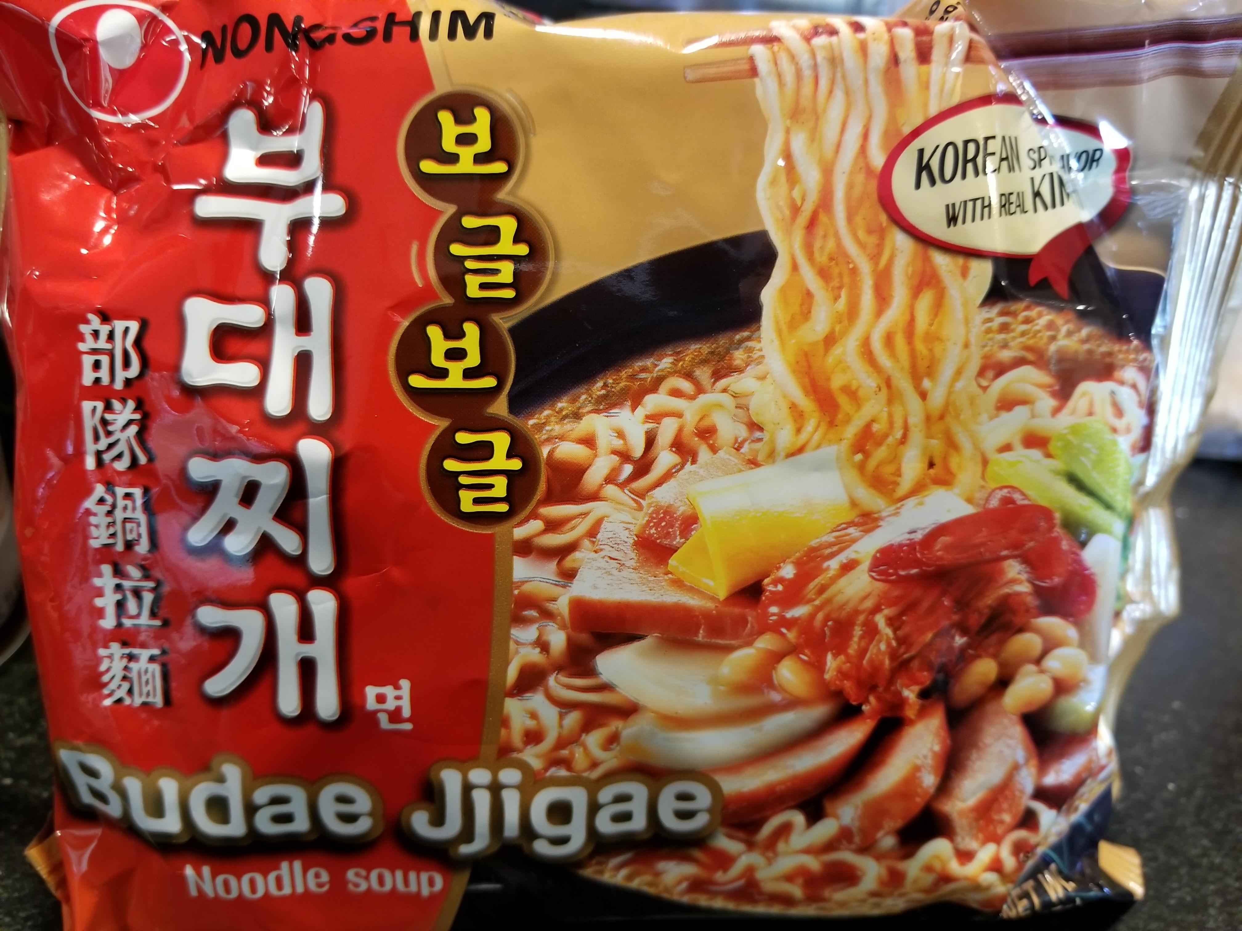 Nongshim Budae Jjigae Instant Noodles