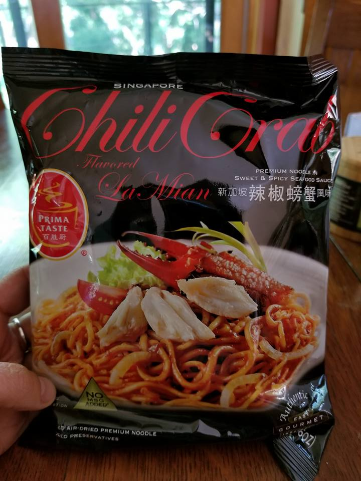 Prima Food Chili Crab flavored La Mian