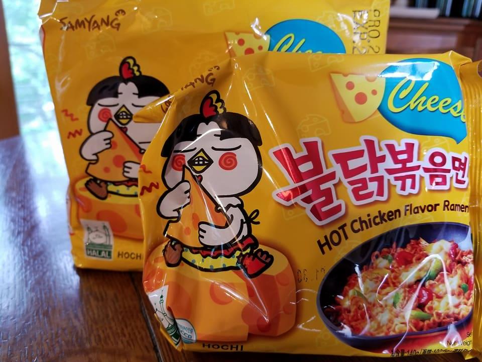 Samyung Hot Chicken Flavor Cheese Ramyun