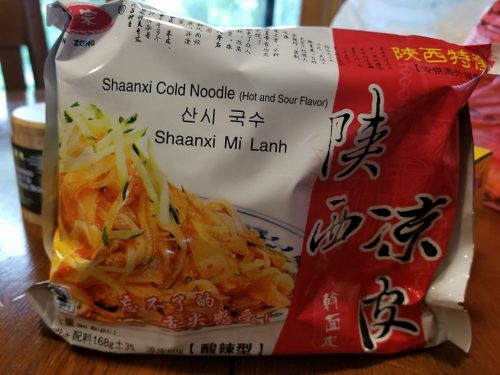 Qin Zhong Shaanxi Cold Noodle – Hot & Sour Flavor