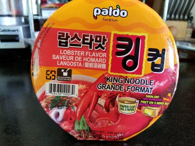 Paldo King Noodle Grande Format – Lobster Flavor