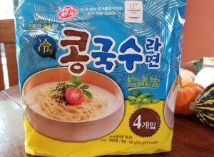 Ottogi Kong-Guksu Ramen (Chilled Soy Milk Noodle Soup), or this is a thing…?
