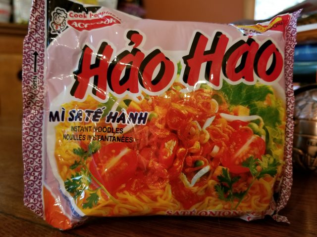 Vina Acecook Hảo Hảo Sate Onion Flavor, or Gooooood morning, Vietnam!