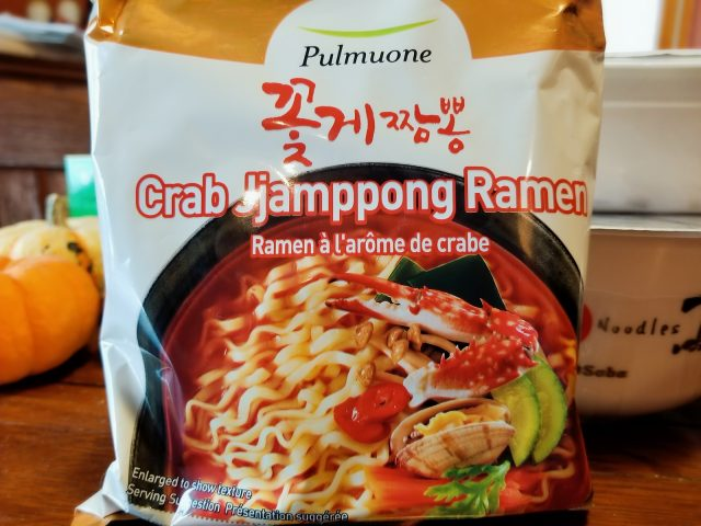 Pulmuone Crab Jjamppong, or are you confused yet??